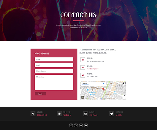 event contact